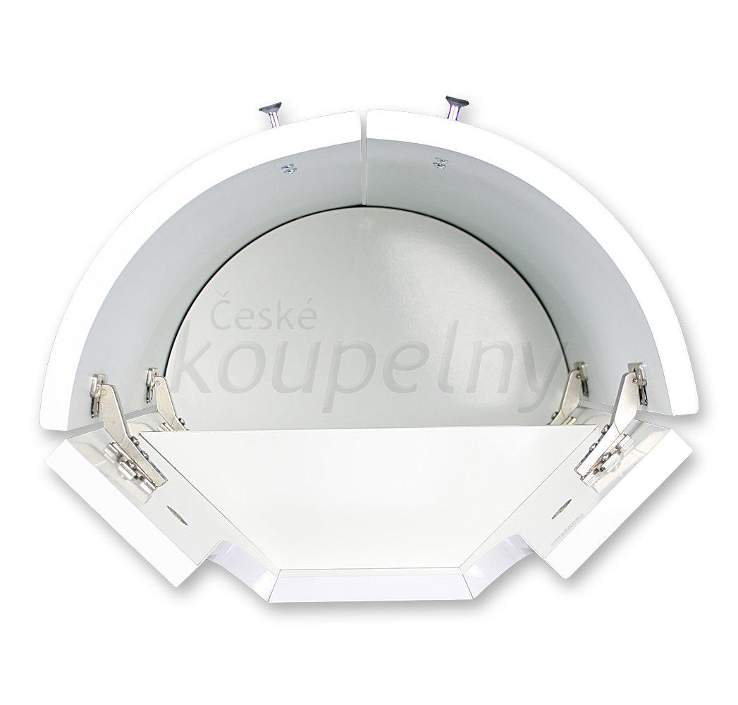 ideal standard connect arc sk ka pod rohov um v tko proveden b l esk koupelny. Black Bedroom Furniture Sets. Home Design Ideas